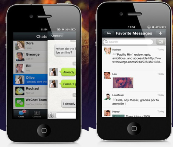 wechat-interface-double