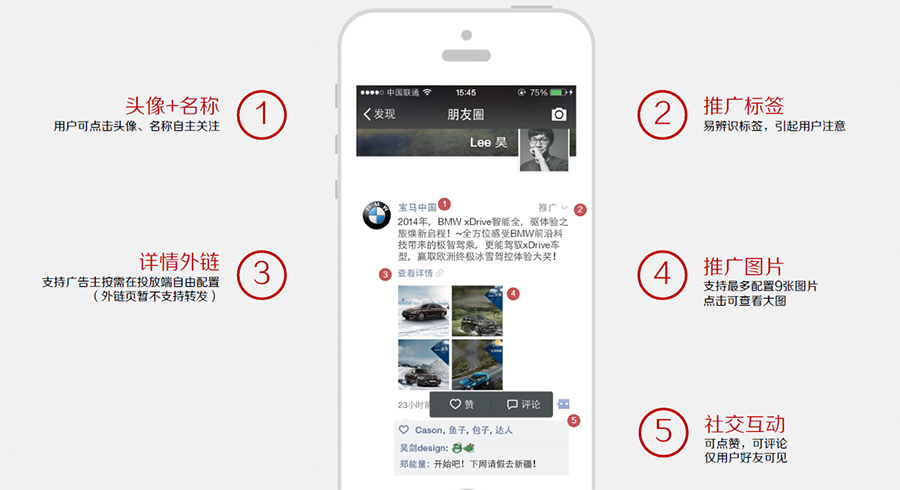 WeChat advertising - anatomy of a WeChat ad